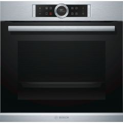 Bosch HBG674BS1B Single electric oven, pyroclean, stainless steel