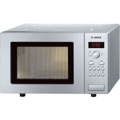 Bosch HMT75M451B Freestanding Microwave, Stainless Steel, 800w, 17ltr, Led Display