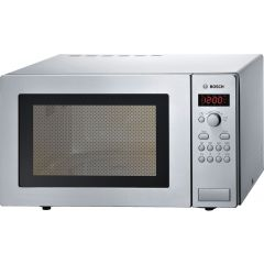 Bosch HMT84M451B Freestanding Microwave, Stainless Steel, 800w, 25ltr, Led Display