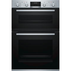 Bosch MBA5350S0B Electric double oven, stainless steel