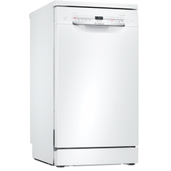 Bosch SPS2IKW04G Freestanding dishwasher, 45cm, white