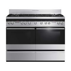 Fisher And Paykel OR120DDWGX2 120cm wide Dual fuel range cooker