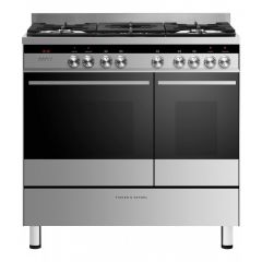 Fisher And Paykel OR90L7DBGFX1 90cm Dual fuel range cooker