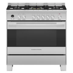 Fisher And Paykel OR90SDG6X1 90cm Wide Pyroclean range cooker