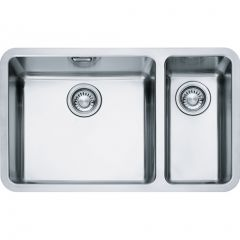Franke KBX16045-20RSB Stainless Steel, One And A Half Bowl Undermount