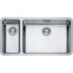 Franke KBX16055-20LHSB Stainless Steel, One And A Half Bowl Undermount