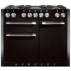 Mercury 93220, Dual fuel range cooker, ash black
