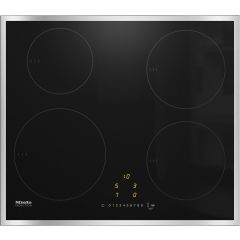 Miele KM7201FR Induction hob, 4 zone, stainless steel frame