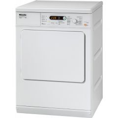 Miele T8722 White Vented dryer, 7 Kg Honeycomb