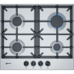 Neff T26DS49N0 , 60Cm Gas Hob, stainless steel