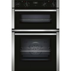 Neff U1ACE2HN0B , Electric double oven, stainless steel and black