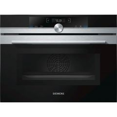 Siemens CM633GBS1B Multifunction oven microwave combination