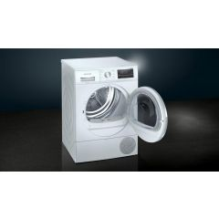 Siemens WT47RT90GB , 9kg Heat Pump Tumble Dryer - White - A++ Energy Rated