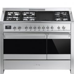 Smeg A3-81 Stainless Steel Dual Fuel Range Cooker