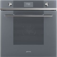 Smeg SFP6101TVS Linea, Single electric oven, pyroclean, stainless steel
