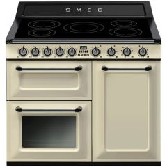 Smeg TR103IP Range cooker, 100cm, induction, Victoria, cream