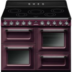 Smeg TR4110IRW Range cooker, 110cm, induction, Victoria, Red wine *Available in other colours