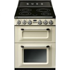 Smeg TR62IP  60cm cream, Dual Cavity, Induction Cooker, Victoria