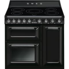 Smeg TR93IBL Range cooker, 90cm, induction, Victoria, black
