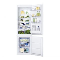 Zanussi ZBB28651SV,Integrated Fridge freezer, frost free, 70:30 split